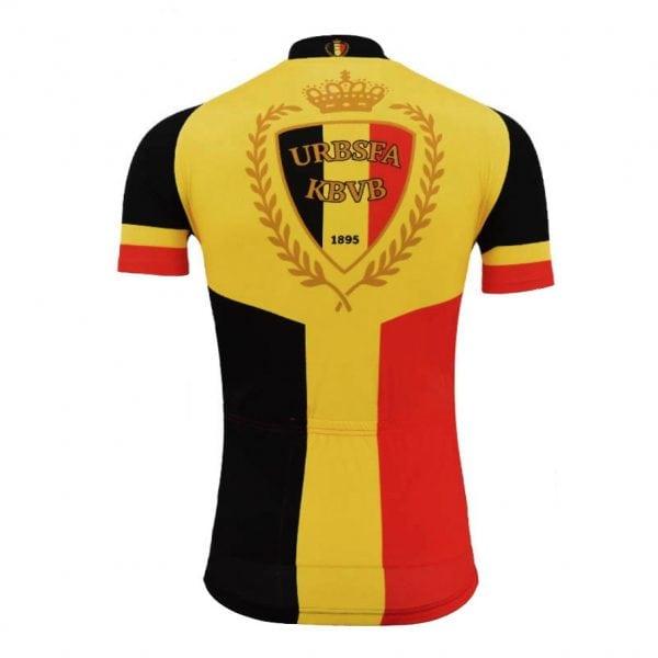 maillot cyclisme vélo couleurs belgique belge