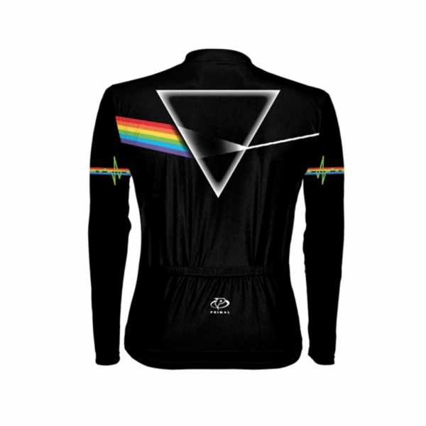 pink floyd maillot cyclisme vélo manches longues