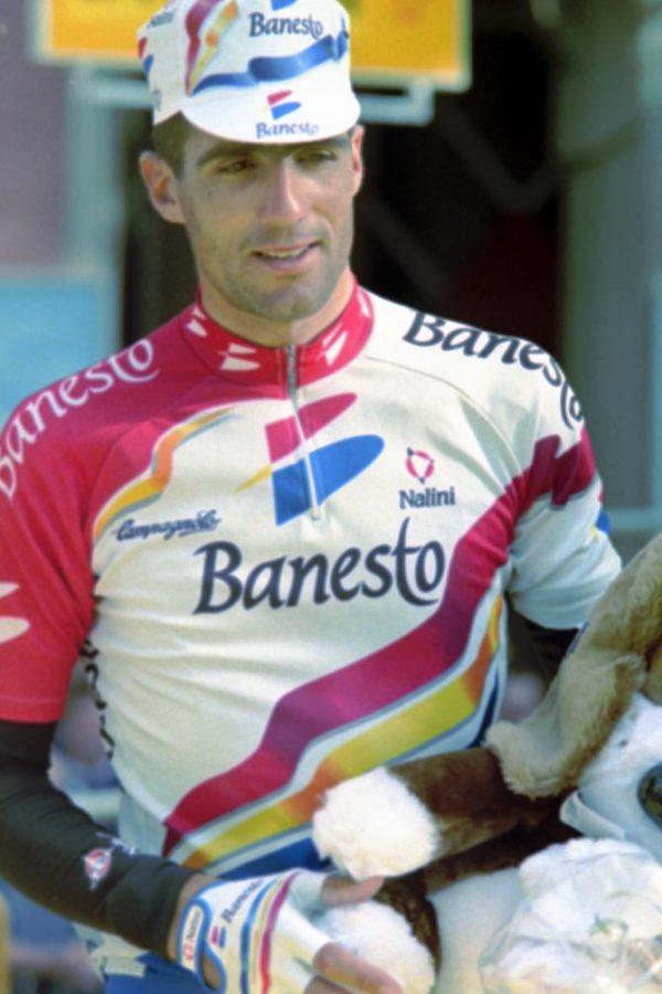 banesto maillot cycliste vintage miguel indurain eroica