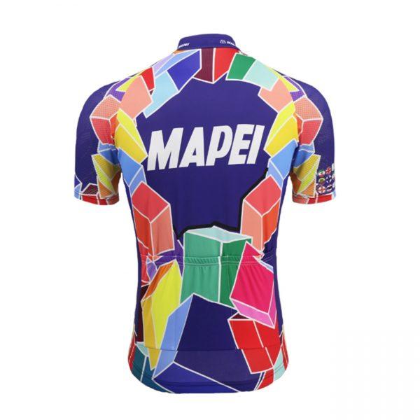 maillot cycliste vintage mapei