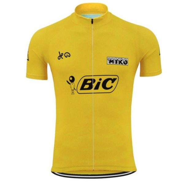 maillot cycliste vintage bic luis ocaña