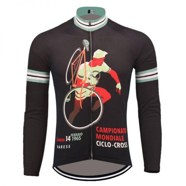 maillot vintage manches longues