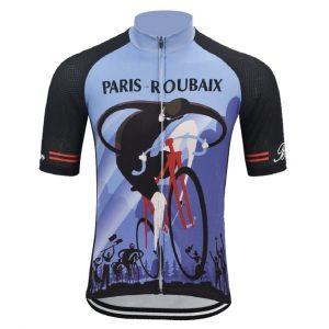 maillot cyclisme vintage paris roubaix