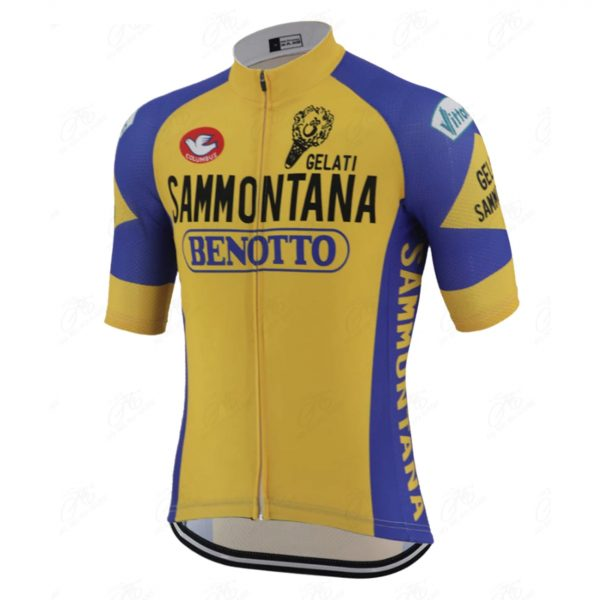 maillot cycliste vintage benotto
